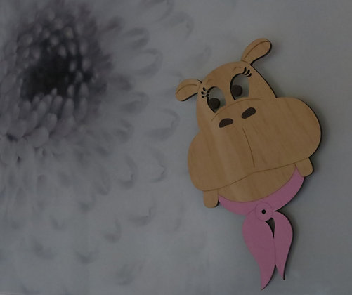Crystal Ashley - Hippo Girl Hook