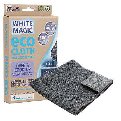 White Magic - Eco Cloth - Oven & Cooktop