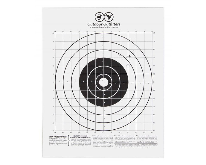 Outdoor Outfitters - A4 Paper Targets