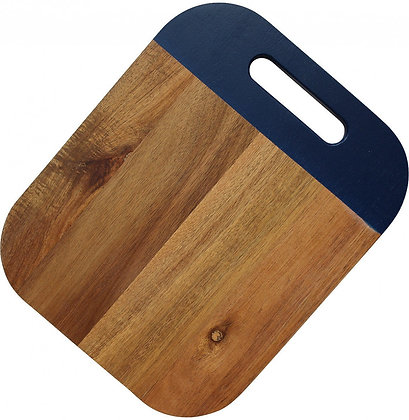 Serving Board Blue Edge