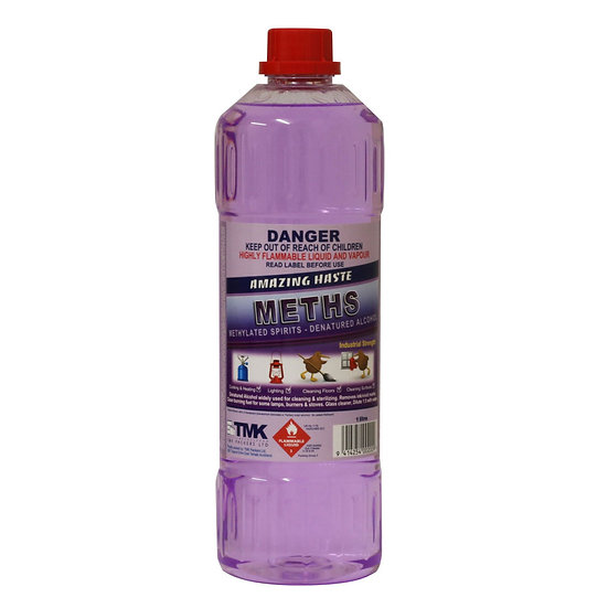 TMK - Amazing Haste Methylated Spirits - 1 Litre
