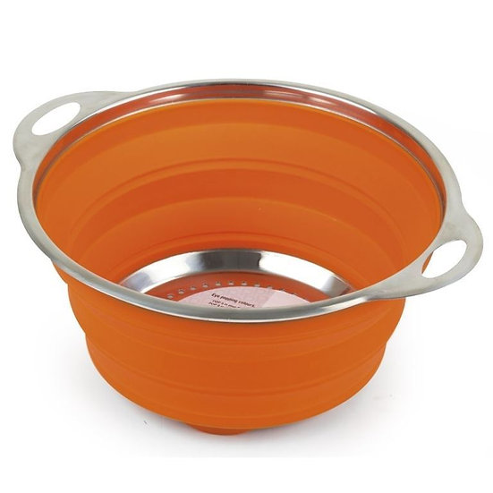 Popup - Silicoane Colander - Orange or Green