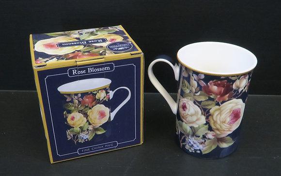 Rose Blossom - Fine China Mug