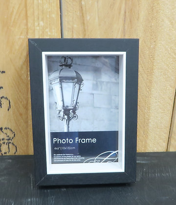 The Straights Trading Co - White/Black Photo Frame