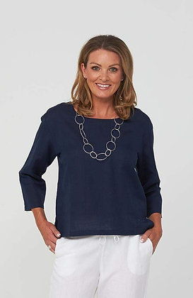 Kaja Sue Top Navy