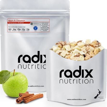 Radix 600 Apple, Cinnamon & Turmeric Breakfast Performance