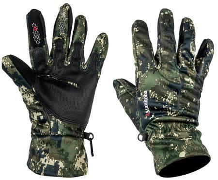 Manitoba - Shooters Gloves - Camo