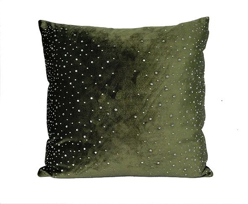 Velvet Cushion Jade