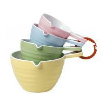 Cuisena - Measuring Cups Ribbed - set of 4