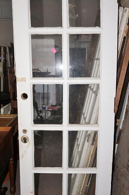 10 Lite Single French Door