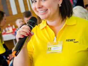 Den otevřených dveří ve firmě REMET networkerka zvládla na jedničku!