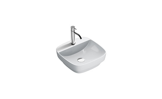 CATALANO GREEN LUX 42x42 BASIN WITH TAP TOP CENTRAL TAP HOLE (RESTYLING 2018)