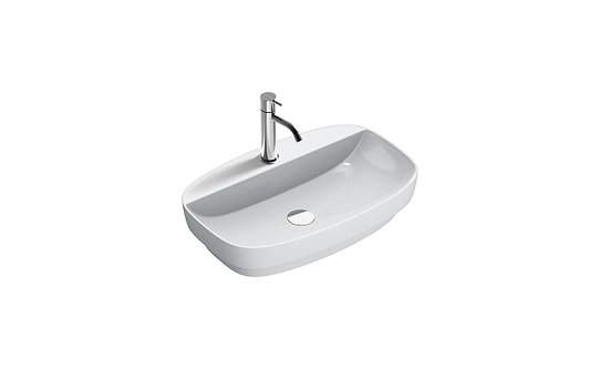 CATALANO GREEN LUX 65x42 BASIN WITH TAP TOP CENTRAL TAP HOLE (RESTYLING 2018)