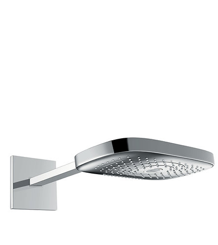 HANSGROHE RD SELECT E 300 3JET OH WALL CHROME