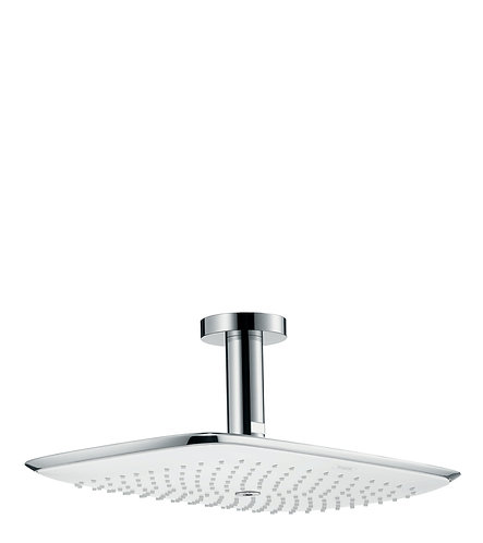 HANSGROHE PURAVIDA OHS 400MM CEIL 100 WHITE/CHR