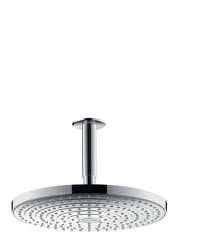 HANSGROHE RD SELECT S 300 2JET OHS CEIL.WH/CHR.
