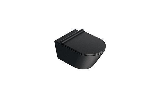 CATALANO ZERO 55 NEW FLUSH SATIN WHITE WALL-HUNG WC (RIMLESS WC)