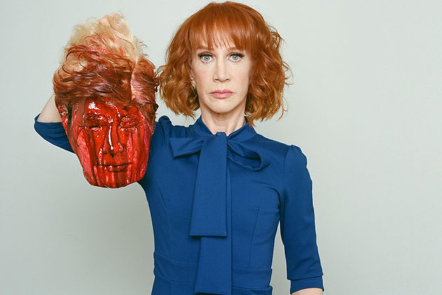 Kathy Griffin says, Donald Trump and his family are trying