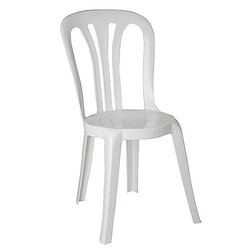 Chaise Bistrot Blanc