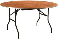 Table ronde pliante 150 cm