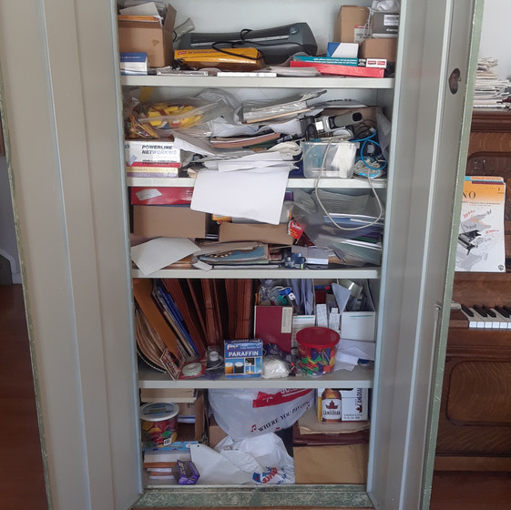 Stationary Cabinet Before