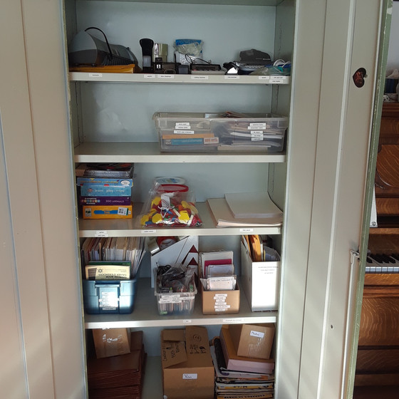 Stationary Cabinet After