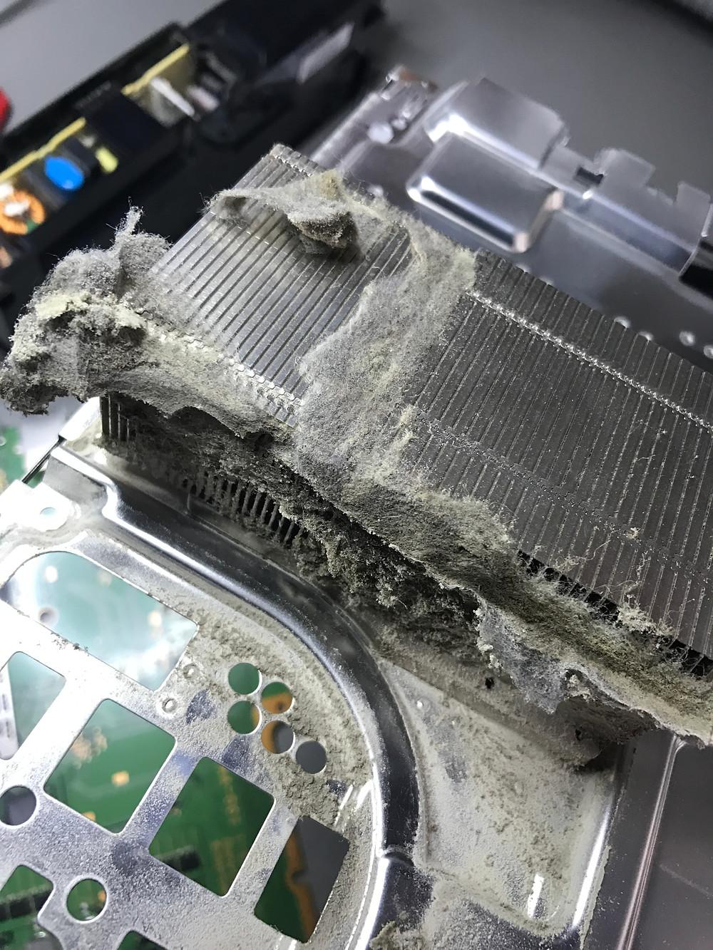 PS4 Kühler verstaubt
