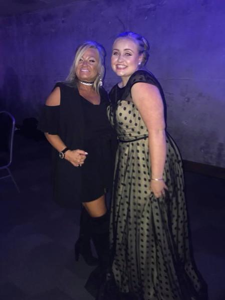 Colie Lemon with Nova President, Tami Knapp-Smith