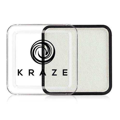Kraze Metallic Square - White
