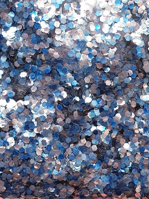 Marine Biodegrable Festival Glitter Blend - Ice