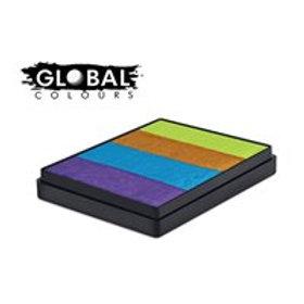 Global Rainbow Cake French Quarter - 50g