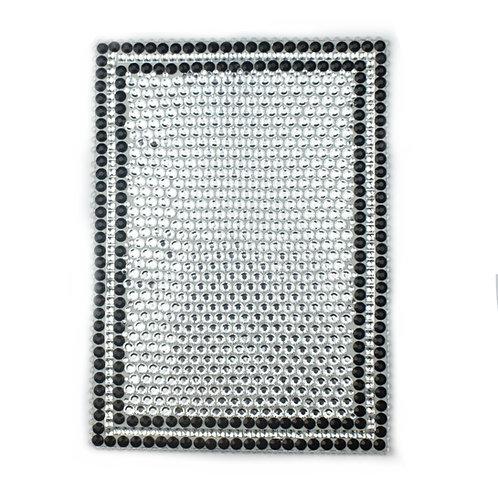 Gem Gemma Acrylic Mirror - Black Silver