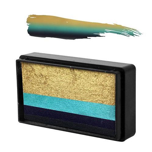 Natalie Davies Gold Collection - Blue Wren