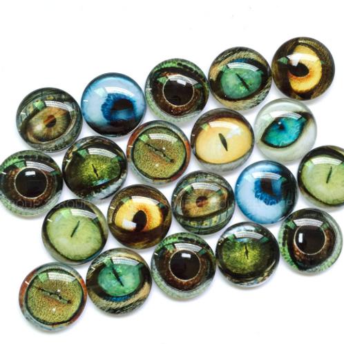 Boy Gemz Animal Eyes (10/12mm)