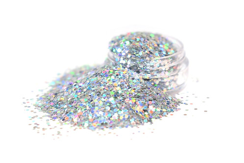1mm Silver Holographic