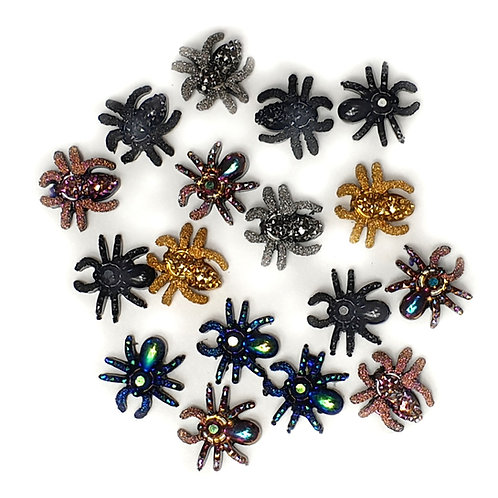 Spiders - 13mm (30pcs)