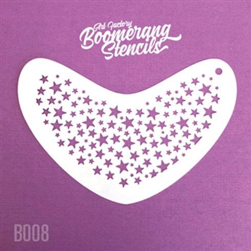 Boomerang - Stars Stencil