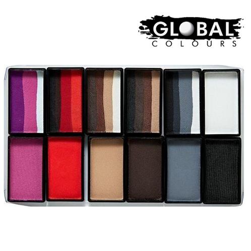 Global Rainbow Furry Friends Palette