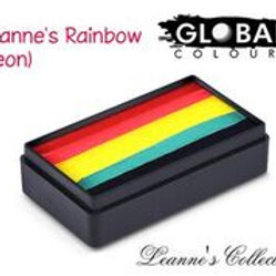 Global Fun Stroke Leanne's Rainbow Neon - 30g