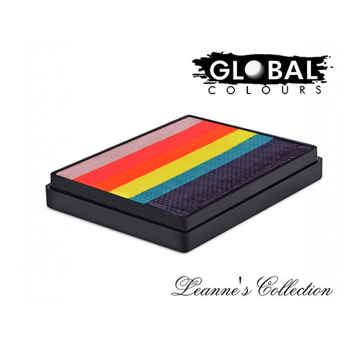 Global Rainbow Cake - Leanne's Tropical Butterfly - 50g
