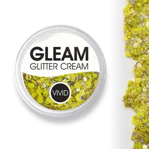 Pineapple - Gleam Chunky Glitter Cream (Supports Healing Smiles Foundation)