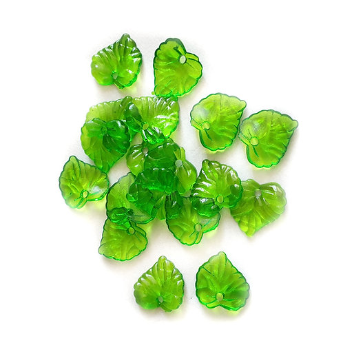 Broad Leaves - 16mm (20pcs)
