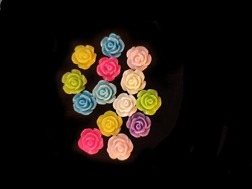 Flowers 53 - 10mm (25pcs)