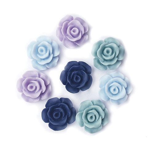 Elsa Mix Flowers 2 - 15mm (20pcs)