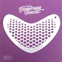 Boomerang - Hearts Half tone