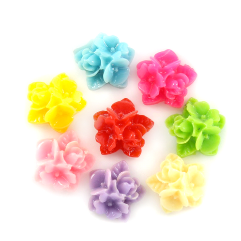 Flower Cluster - 15mm (20pcs)