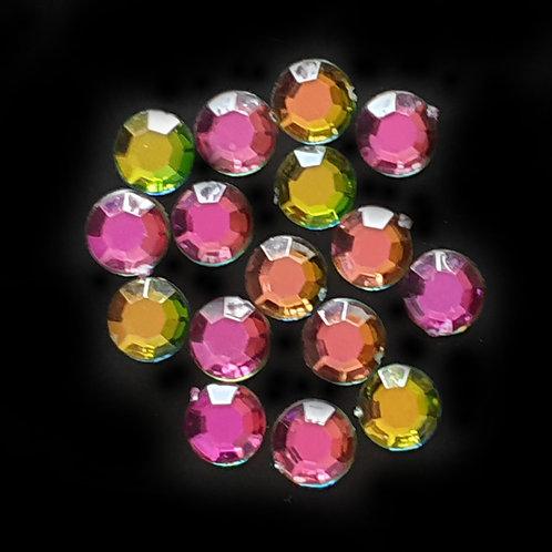 Rainbow Rounds  - 10mm (40pcs)