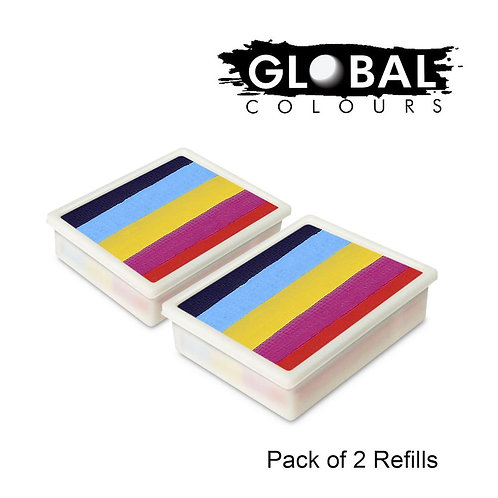 Global 10g Refills (2x) Leanne's Rainbow