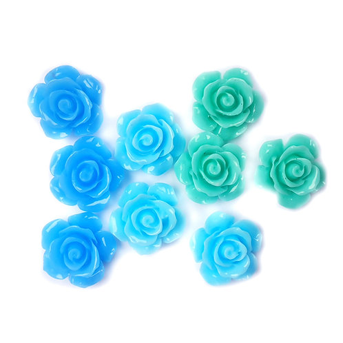 Elsa Mix Flowers - 15mm (15pcs)