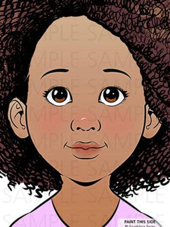 Sparkling Faces Board - Lia